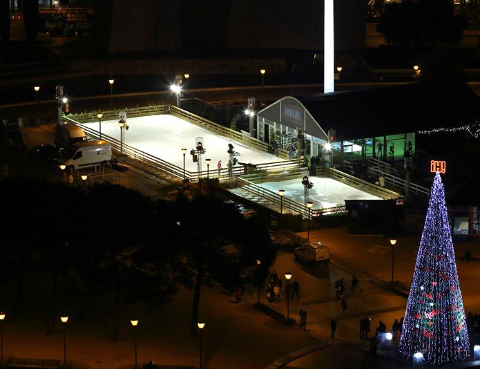 pista patinaje hola