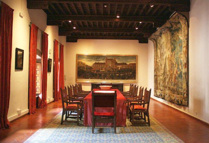 interior castillo manzanares