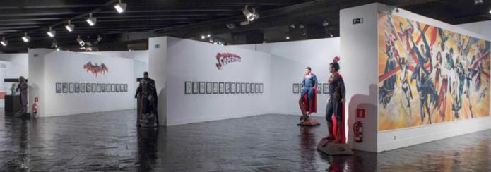 entradas exposición super heroes madrid